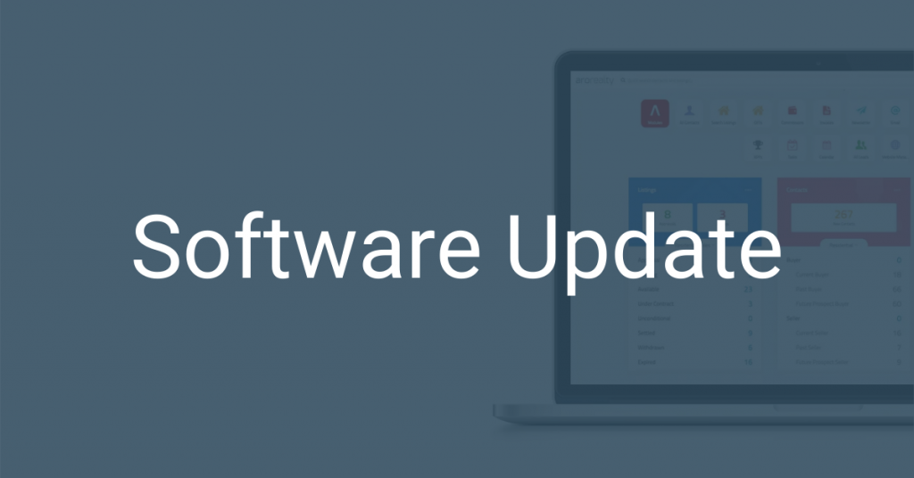 Aro Software Update